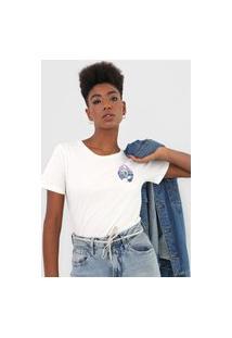 Camiseta Volcom Zuverza Off-White