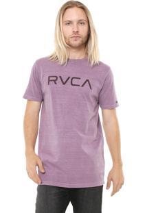 Camiseta Rvca Pigment Lilás