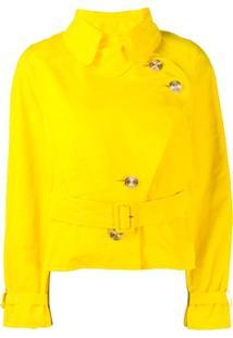Alexandre Vauthier Jaqueta Com Botões - Amarelo