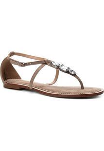 9b5441309c R$ 69,90. Zattini Rasteira Couro Shoestock ...