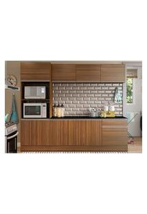 Cozinha Completa Trevalla Móveis Linea 8 Portas 1 Gaveta