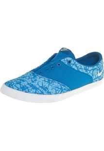Tênis Nike Sportswear Wmns Mini Sneaker Print Azul