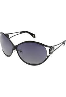 Óculos De Sol Arredondado - Pretocarmim