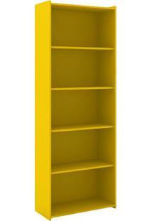 Estante Biblioteca- Amarela- 182X70X30Cmmovel Bento