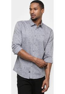 Camisa Ellus 2Nd Floor Slim Fit Tinturada - Masculino