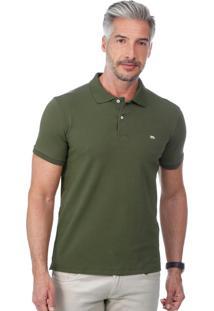 Camisa Polo Javali Cotton Basic Militar