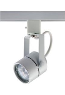 Spot Para Trilhos De Sobrepor Para 1 Lâmpada 60W Branco Auremar