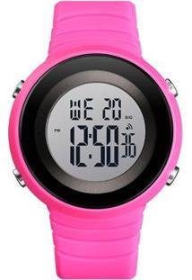 Relógio Feminino Skmei Digital - Feminino-Rosa