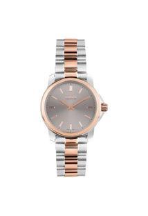 Relógio Vivara Feminino Aço Prateado E Rosé - Ds14161R0A-2