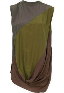 Rick Owens Blusa De Seda - Verde