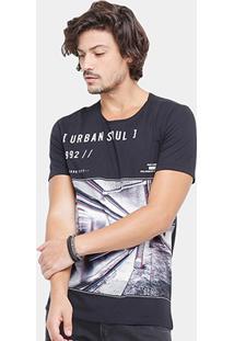 Camiseta Kohmar Urban 3D Masculina - Masculino