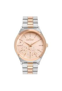 Relógio Condor Feminino Prata Analógico Co2036Kxs5J