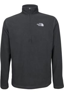 Blusa The North Face Masculino Glacier Quarter Zip - Masculino