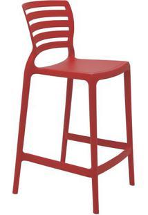 Cadeira Sofia- Vermelho Escuro- 93,5X48X47Cm- Trtramontina