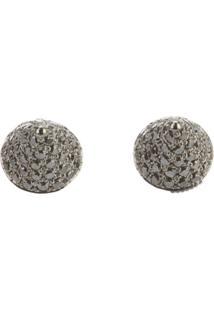 Elise Dray Diamond 'Mini Muse' Earrings - Cinza