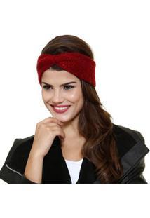 Headband Feminino Faixa Cabelo Paetês Marisa