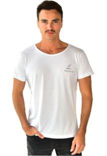 Camiseta Seeds Plante E Regue Brohood Branca