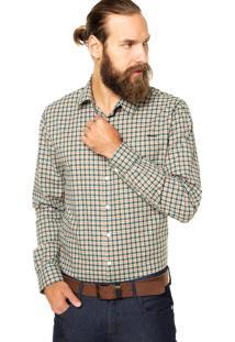 Camisa Sommer Xadrez Multicolorida