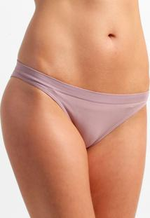 Calcinha Sem Costura Lupo Básica - Feminino-Nude