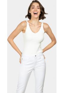Calça Jeans Skinny Bali White Branco - Lez A Lez