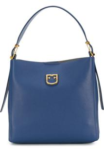 Furla Bolsa Belvedere - Azul