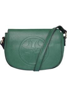 Bolsa Isabella Piu Logo Verde