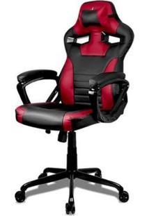 Cadeira Gamer Pichau Shield - Unissex-Preto+Vermelho