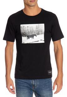 T-Shirt Ckj Masc Mc Andy Warhol Landscap - Preto - P