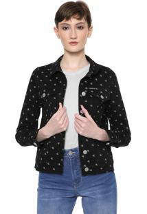 Jaqueta Sarja Calvin Klein Jeans Color Preta