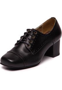 Sapato Mzq Brenda Lee Preto - 7305 - Preto - Feminino - Dafiti