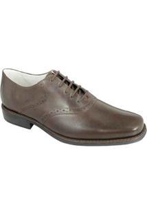Sapato Social Oxford Sandro Moscoloni Arron Masculino - Masculino-Marrom Escuro