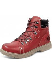 Bota Sandro Moscoloni Worker Red