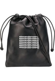 Alexander Wang Drawstring Tote Bag - Preto
