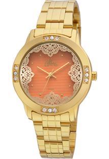 Relógio Digital Listras Perola feminino   Shoelover b0cccea3d1