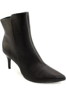 Ankle Boot Bico Fino Offline 20873