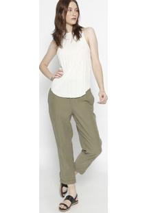 Regata Canelada E-Fabrics - Off Whiteosklen