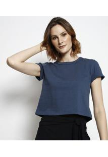 Camiseta Lisa - Azul Marinho - Tritontriton
