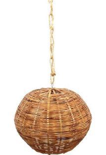 Pendente Bambu Rústico Tupã | M