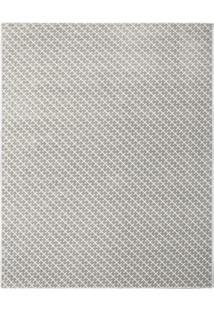 Tapete Classe A Sc Geomã©Trico- Bege Escuro & Off White