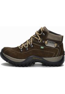 Bota Helazza Boots Adventure Trekking Musgo
