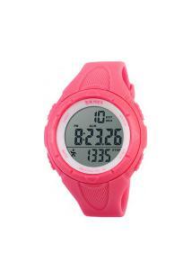 Relógio Skmei Feminino -1108- Vermelho