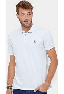 Camisa Polo Reserva Piquet Botonê Bordado Masculina - Masculino