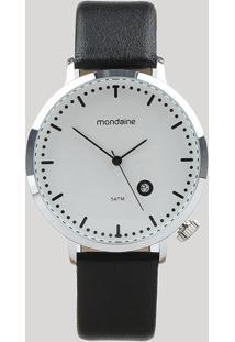 Relógio Analógico Mondaine Feminino - 99385G0Mvnh1 Prateado - Único