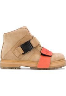 Rick Owens Ankle Boot Clássica - Neutro