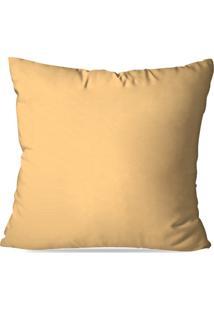 Capa De Almofada Avulsa Amarelo 35X35 - Multicolorido - Dafiti