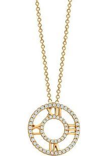 Colar Le Diamond Romano Dourado - Kanui