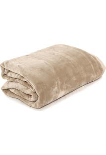 Cobertor Casal Kacyumara Blanket Bege