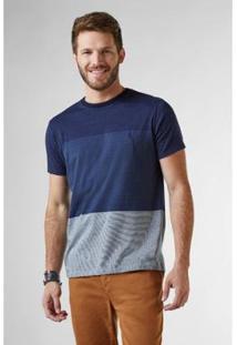Camiseta Degrade Paros Reserva Masculina - Masculino-Marinho