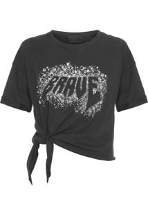 Camiseta Feminina Mc Rapunzel - Preto