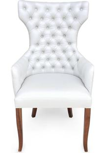 Cadeira Berger Capitonê Madeira Maciça Design Clássico